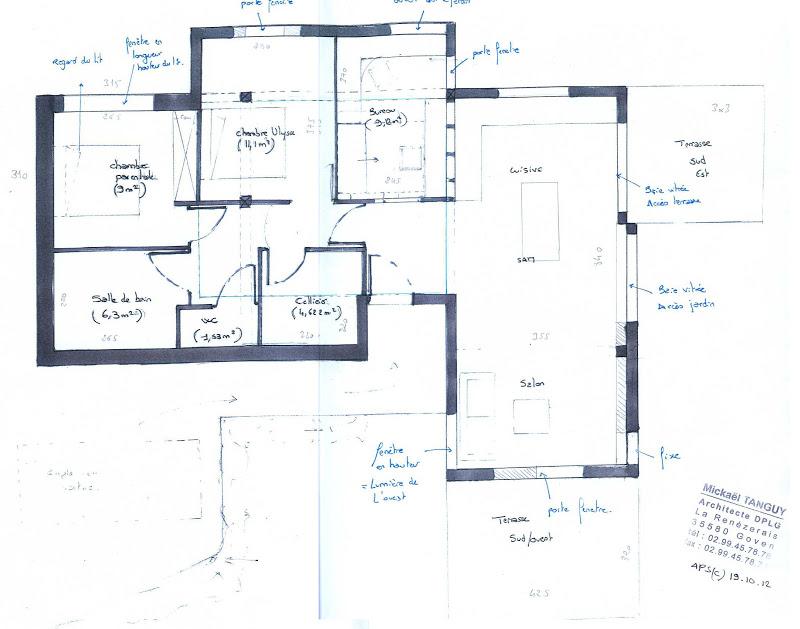 plan de maison trecobat. Black Bedroom Furniture Sets. Home Design Ideas