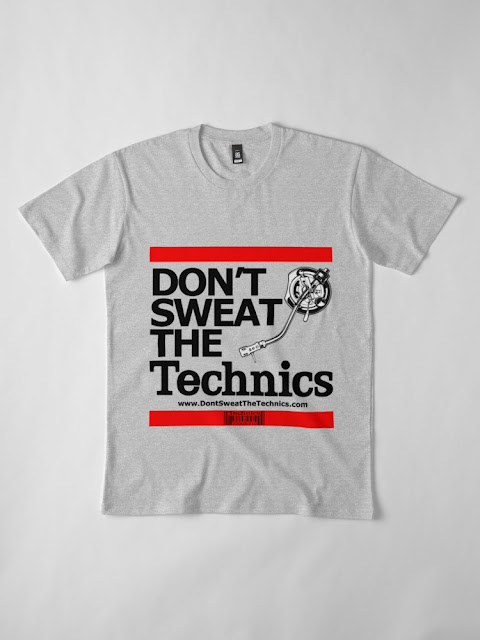 DON'T SWEAT THE TECHNICS TSHIRT (GRAY)