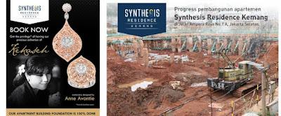 pembangunan apartemen synthesis residence kemang