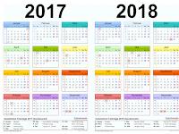 Downlaod Kalender Pendidikan 20172018 Terbaru