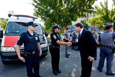 Polícias Militar e Civil unem-se à Guarda Ciil na operação 'Noite Tranquila' em São Bernardo