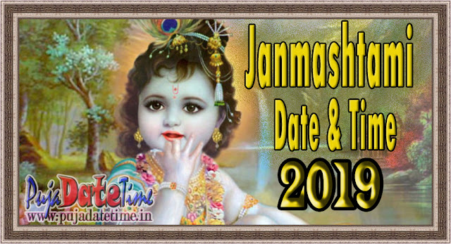 2019 Krishna Janmashtami Date & Time in India