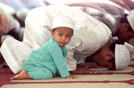 Take your children to the mosque with you