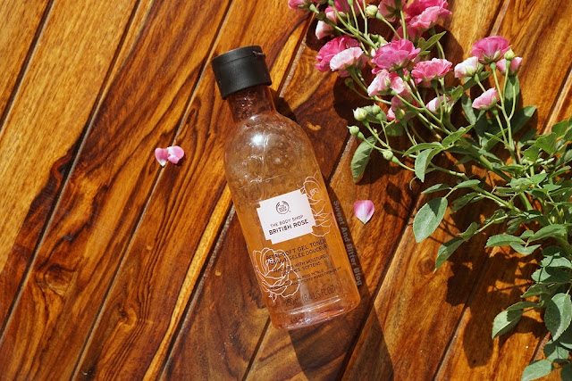 The Body Shop British Rose Petal-Soft Gel Toner Review