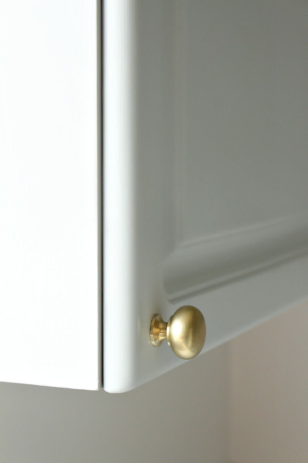 Clean Gold Knobs with Acetone