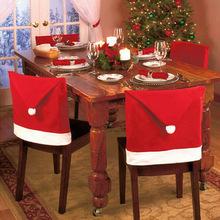 Cadeiras Decoradas  Para a Ceia de Natal