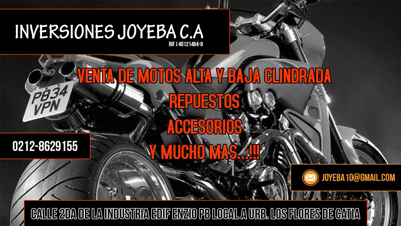 INVERSIONES JOYEBA C.A en Paginas Amarillas tu guia Comercial