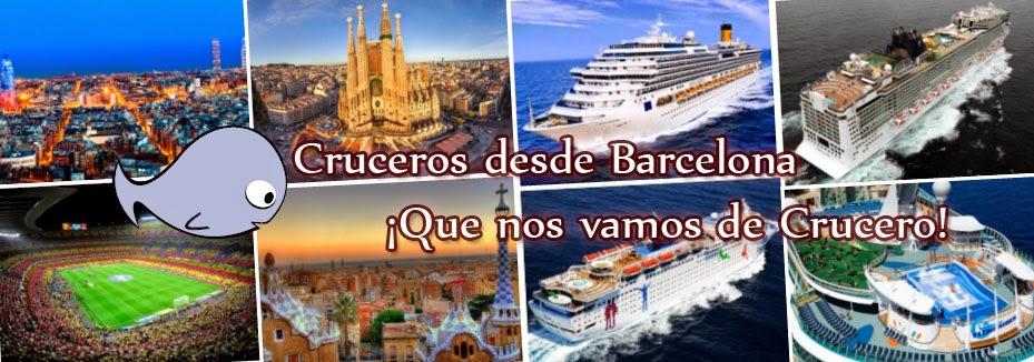 Cruceros desde Barcelona 2014