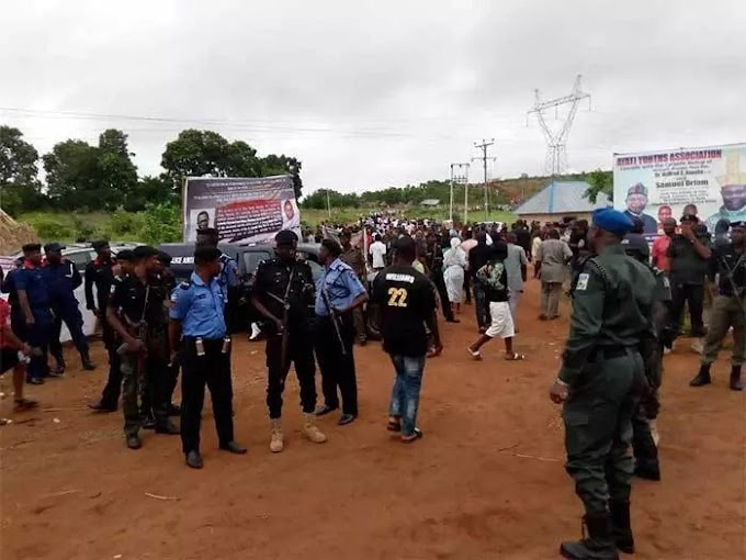 Tears as Benue buries 2 Catholic priests