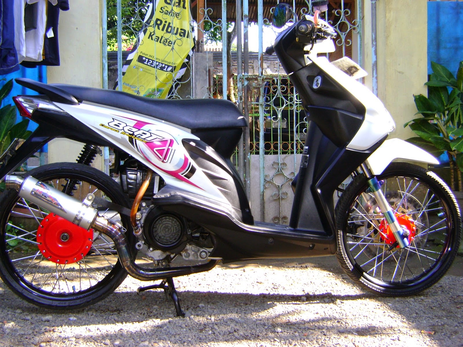 foto modifikasi motor beat