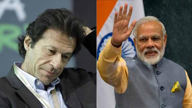 इमरान खान ने पीएम मोदी से कहा, 'शांति का एक मौका दीजिए, जुबान पर कायम रहूंगा'