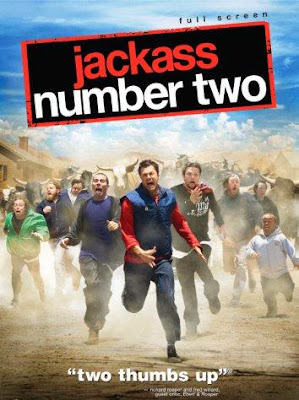 Poster Of Hollywood Film Jackass Number Two (2006) In 300MB Compressed Size PC Movie Free Download At worldfree4u.com