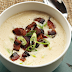 Cream of Cauliflower Soup With selected Garnishes