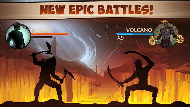 لعبة Shadow Fight 2 v1.9.25 مهكرة كاملة للاندرويد (اخر اصدار)