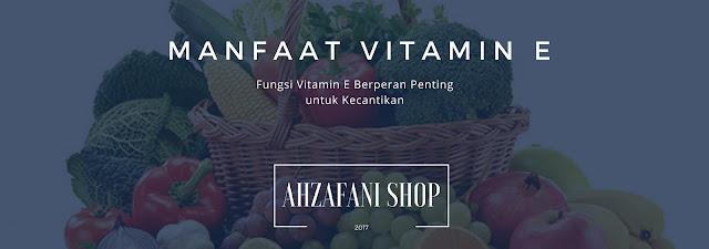 Manfaat Vitamin E untuk Kulit