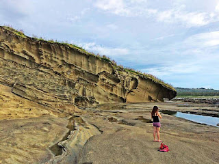 rock formations, biri island, samar, little pinay explorer, HDR