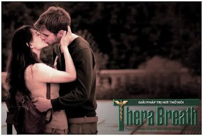 Nụ hôn hoàn hảo nhờ Therabreath