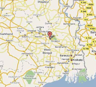 Durgapur Map