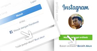 Cara Daftar / Membuat Akun Instagram di Komputer / Laptop