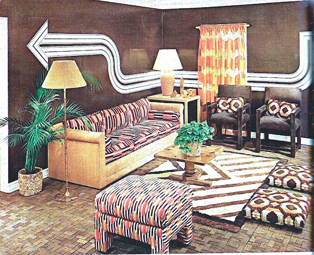 1974 wall stencil photograph from a catalog