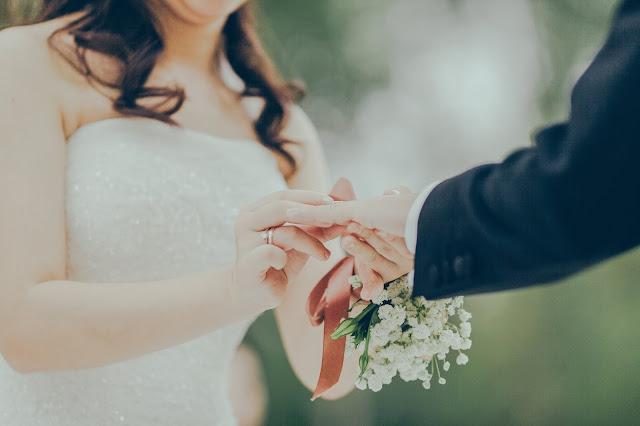 Pamiątki przypominające ślub