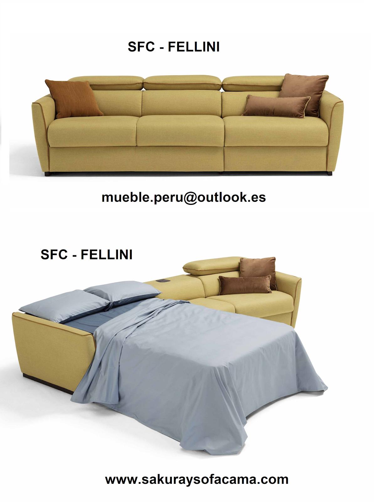 sofa sfc southern beds uk mueble peru sakuray cama seccional fellini