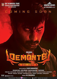 Demonte Colony (2015) Dual Audio Hindi UnCut HDRip | 720p | 480p | Watch Online and Download