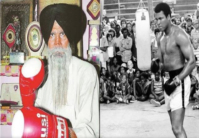 El boxeador hindú que enfrentó a Ali es olvidado en su país