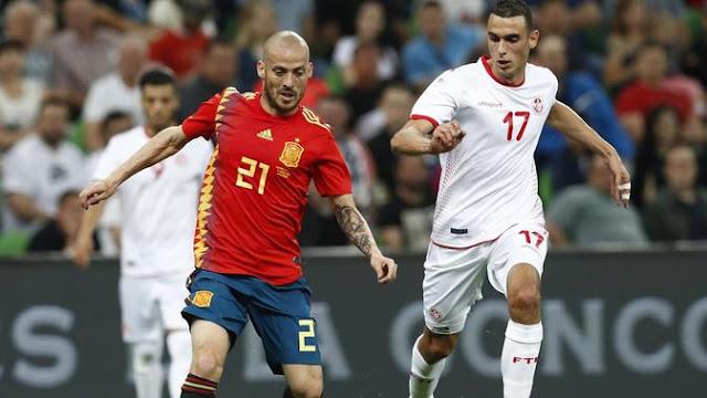 Video Cuplikan Gol Tunisia vs Spanyol Skor Akhir 0-1 | Friendly Match 04 Juni 2018