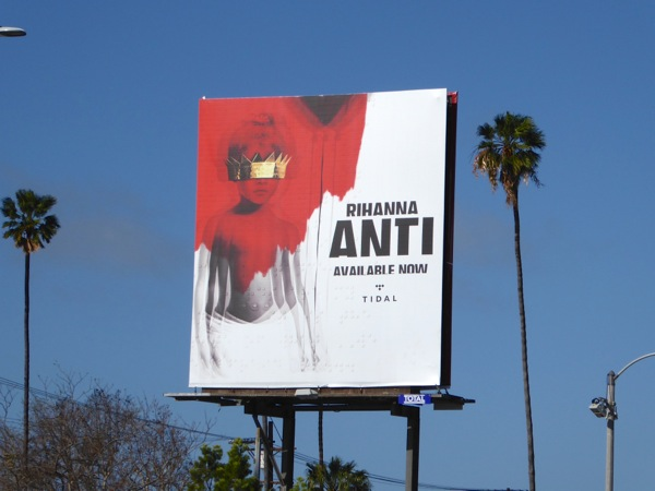 Rihanna Anti album billboard