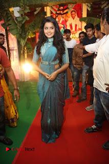 Actress Anupama Parameswaran Stills in Stylish Saree at Shatamanam Bhavathi Audio Launch  0075.JPG