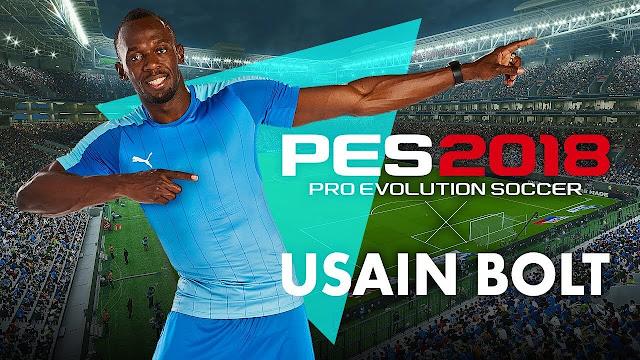 PES 2018 USAIN BOLT COVER
