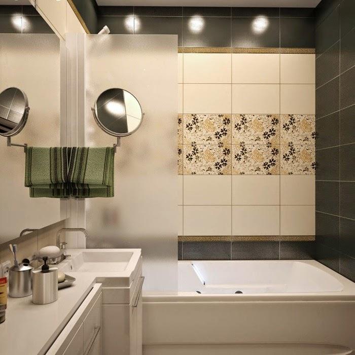 Small Bathroom Tile Pics: Top Catalog Of Bathroom Tile Design Ideas For Small Bathrooms
