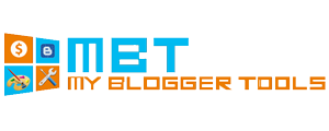My Blogger Tools
