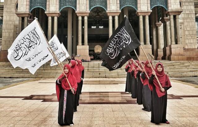 Mengenal apa itu Bendera dan Panji Rasulullah SAW [ Download Materi ]