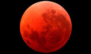 Peristiwa langka 'Bulan Darah' September 2015 akan membawa gempa bumi besar?