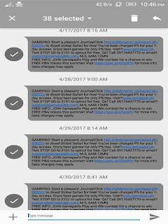 Globe 2151 Gamepad SMS