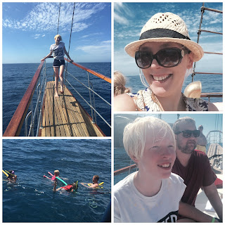 Boat trip on Mondragons Dream