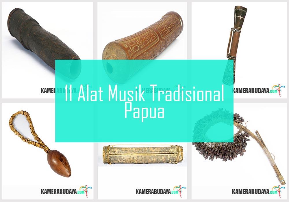 Inilah 11 Alat Musik Tradisional Dari Papua