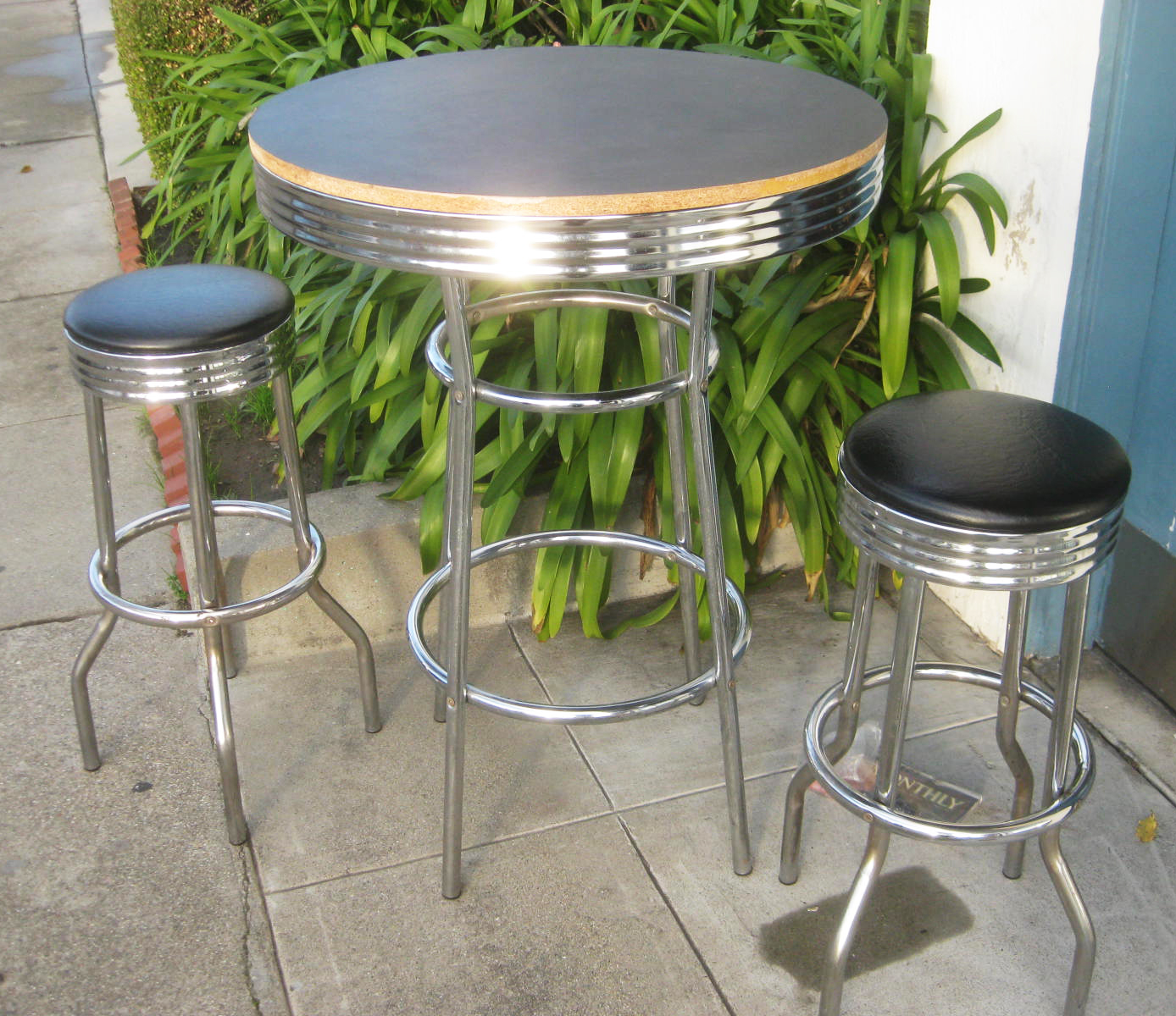 50s Table And Chairs Uhuru Furniture And Collectibles Sold 3950s Diner Stool