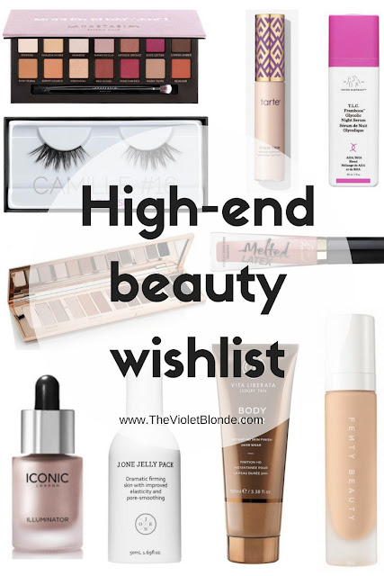 High-end beauty wishlist