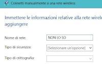 Nascondere la rete WIFI disattivando il SSID