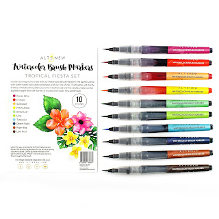 Altenew Tropical Fiesta Watercolor Markers