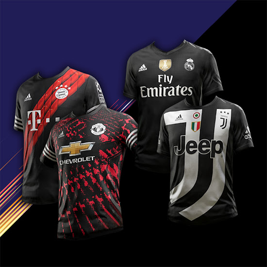 0b26b3d25a0 The digital 4th kits are available exclusively in FIFA 18 s Ultimate Team  mode