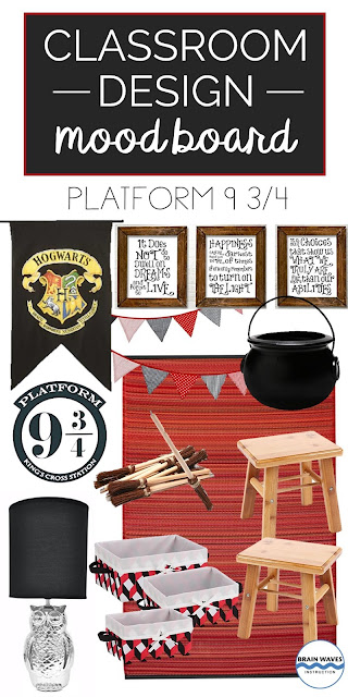 Harry Potter Classroom Decor and Design Ideas