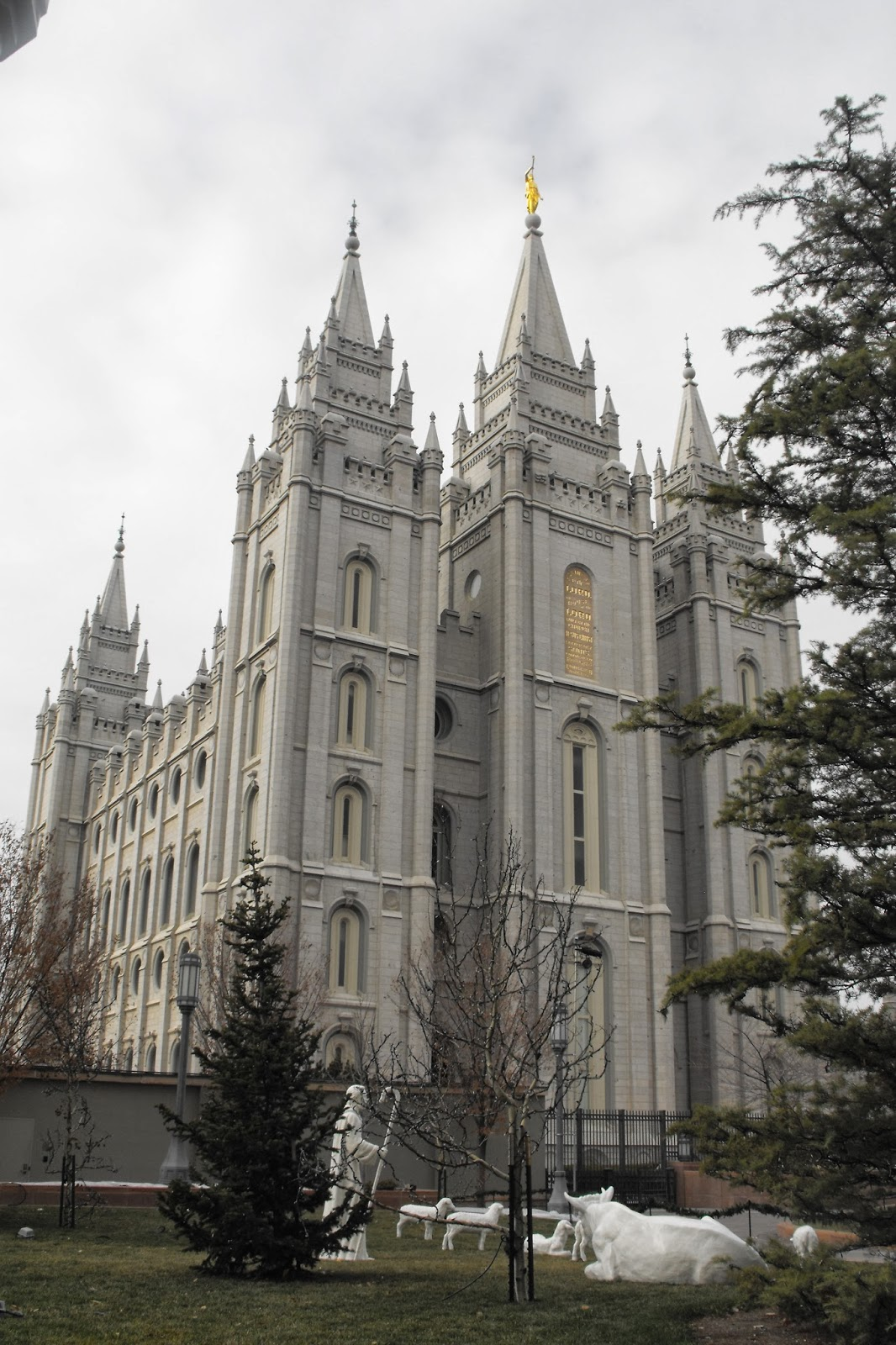 Wimble Wanderings Temple Square Salt Lake City