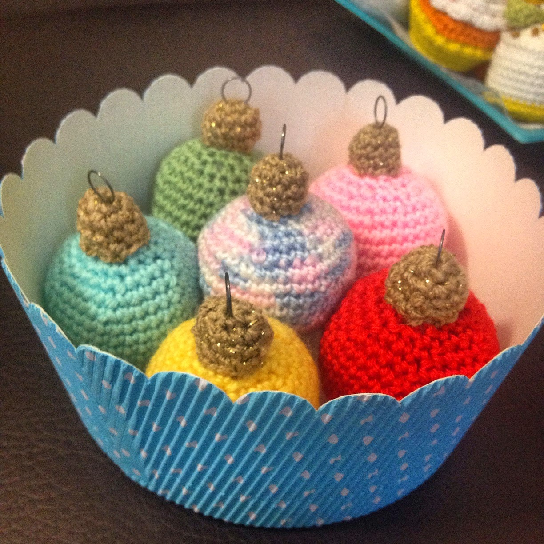 Manualizando Bolas De Navidad De Crochet Patron - Navidad-ganchillo