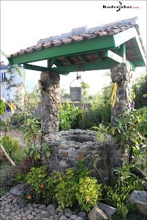 Sumur tua di Taman Bunga Rumah Belanda