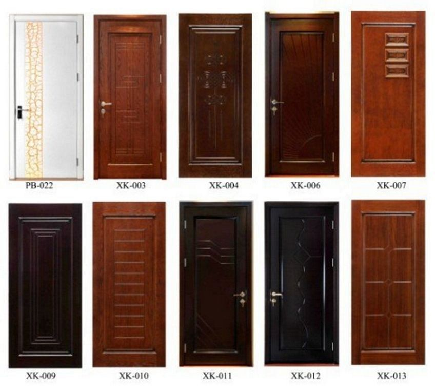 pintu double teakwood 4