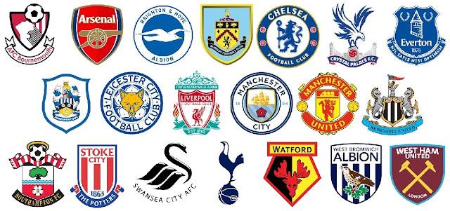 Kumpulan Logo Dream League Soccer Keren : Klub Premier League 2017 - 2018
